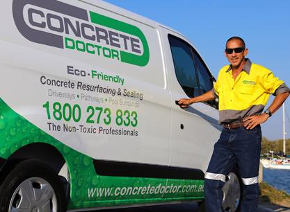 BE THE FIRST - Concrete Doctor Franchise Release Perth all regions
