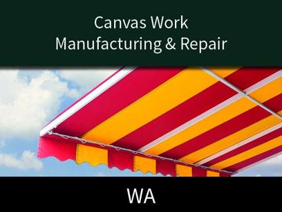 Manufacturing & Repair of Canvas Canopies & Awnings