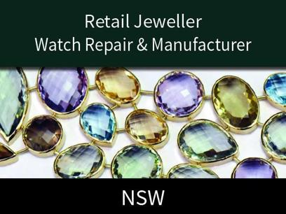 Retail Jeweller - Watch Repair - Fine Jewellery Manufacturer