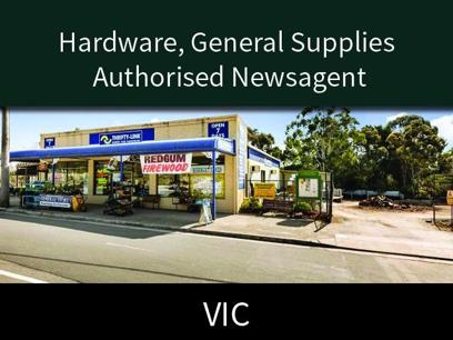 Hardware, General Supplies  Authorised Newsagent