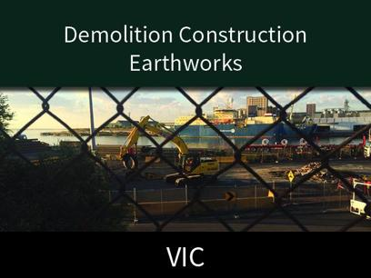 Demolition Construction and Earthworks