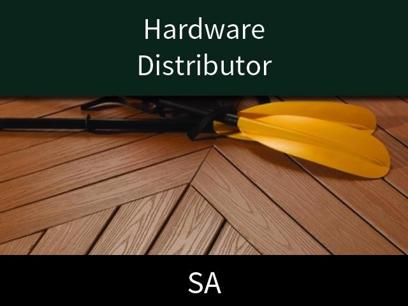 Hardware Distributor - Environment friendly alternative to solid wood