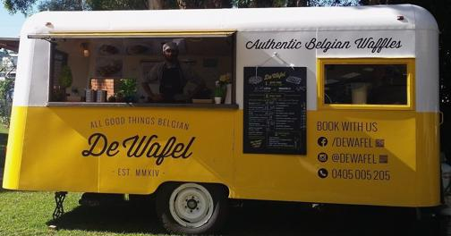 Food Truck Business For Sale: De Wafel