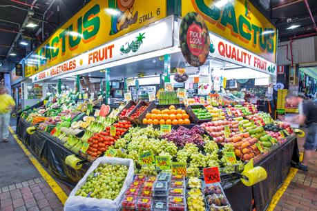 Profitable Adelaide Central Market Fruit and Veg Shop