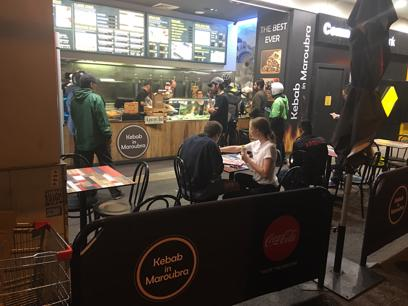 Kebab shop for sale in Maroubra Monday to Thursday you need 3staff and weekend 4