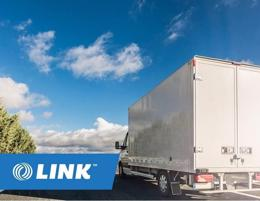 Transport Truck with Contract Major Retailer