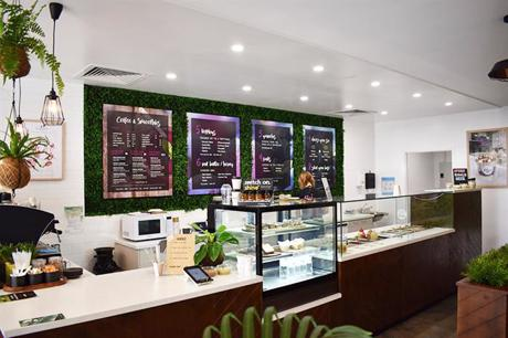 Health Food Cafe in the heart of Hastings Street!