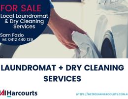 Local Laundromat and Dry Cleaning Business For Sale