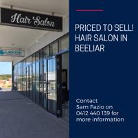 Your chance to buy this high quality hair salon