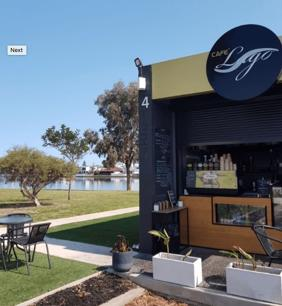 Cafe for Sale overlooking West Lakes for only $59,000