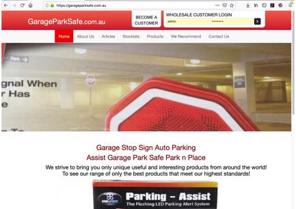 Garage Park Safe Home Business