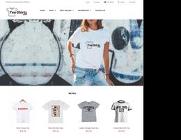 T-Shirts - Online Business For Sale