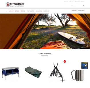 Outback, Camping & Survial Online Business For Sale