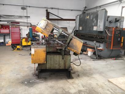 Welding and Fabrication fully equiped workshop for sale