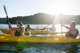 Pittwater's Premiere Kayak & SUP Hire Sales Tour Center - Great Lifestyle Choice