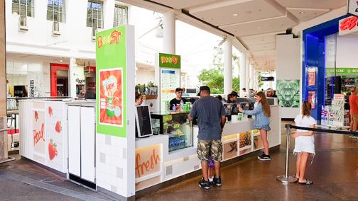 Boost Juice Warringah Mall, NSW – Existing store