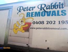 Peter Rabbit Removals business for sale $375,000 WIWO