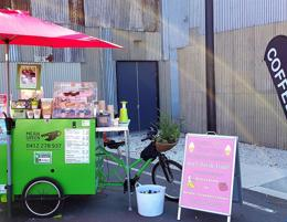 Mobile Coffee Cart & Hi-Ace Van - Independent Freehold Business