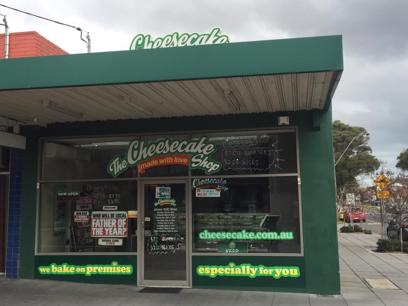 The Cheesecake Shop Bakery Franchise Mordialloc
