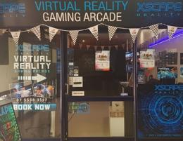 Virtual Reality gaming arcade, first and only in Gold Coast
