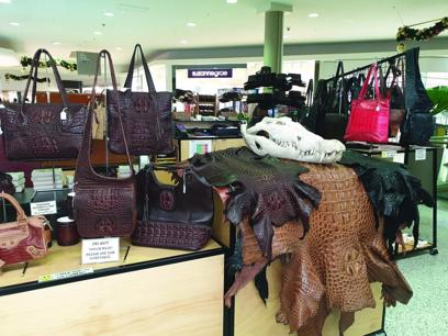 Australian-Made Crocodile, Buffalo & Barramundi Leather Products
