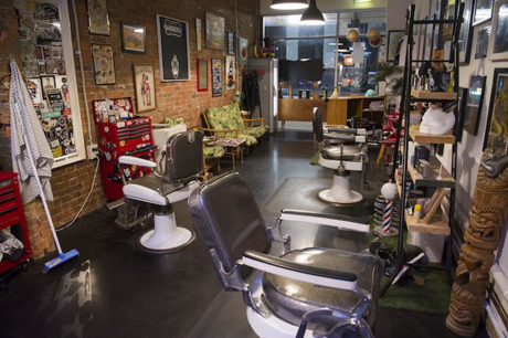 Fully Licensed Retro Style Barber Shop and Tiki Bar  Fortitude Valley, Brisbane