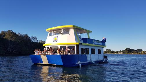 FANCY A SEA CHANGE? Boyd's Bay House Boat Holidays Hire Business for Sale!