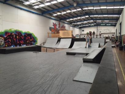 Well supported Melbourne indoor skate centre - Ref: 10030