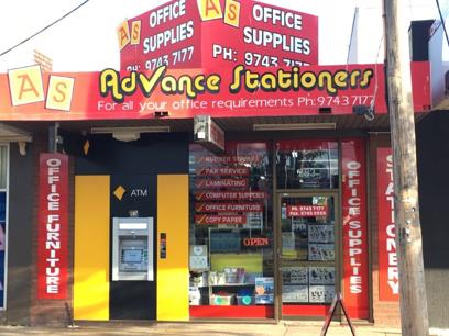 Advance Stationers - Melton (DWN1819)