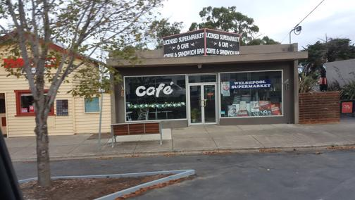 Cafe - busy licensed Supermarket - freehold and business