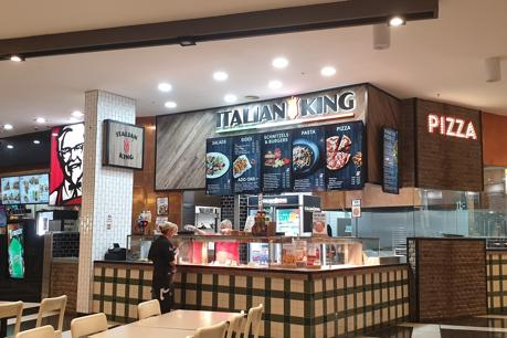 The Italian King, Stockland Shellharbour, Food Court