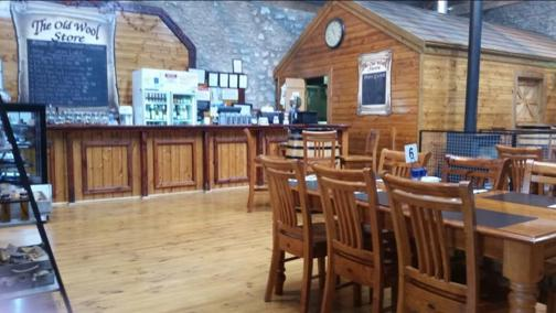 THE OLD WOOL STORE CAFE AND RESTAURANT.  SELLING FREEHOLD BUSINESS AND PROPERTYO