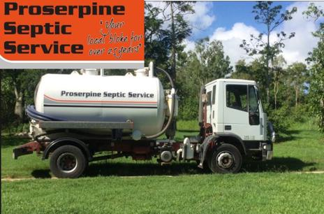 Proserpine Septic Service Established 30 years - Includes Inveco Truck and Tank